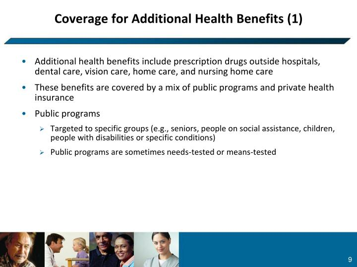 Coverage for Additional Health Benefits (1)