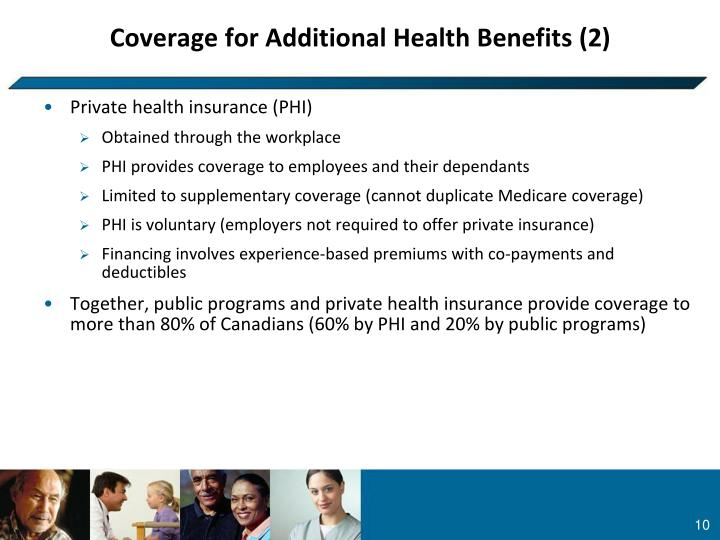 Coverage for Additional Health Benefits (2)
