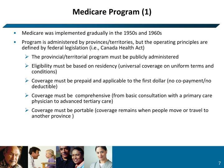 Medicare Program (1)