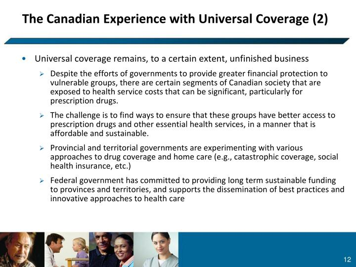 The Canadian Experience with Universal Coverage (2)
