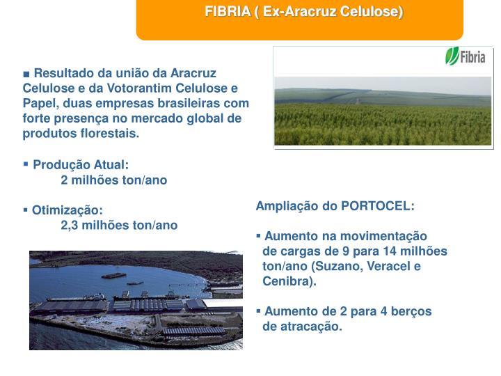 FIBRIA ( Ex-Aracruz Celulose)
