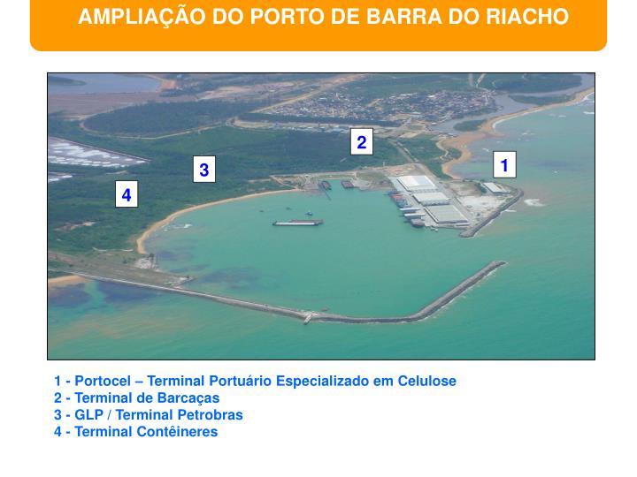 AMPLIAÇÃO DO PORTO DE BARRA DO RIACHO
