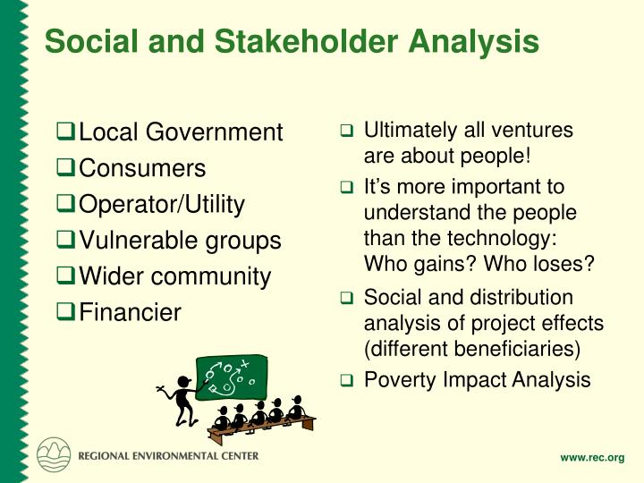 Social and Stakeholder Analysis
