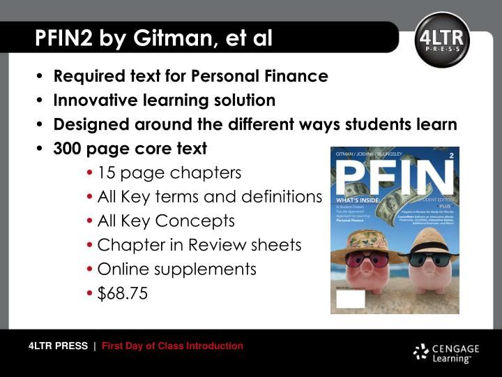 PFIN2 by Gitman, et al