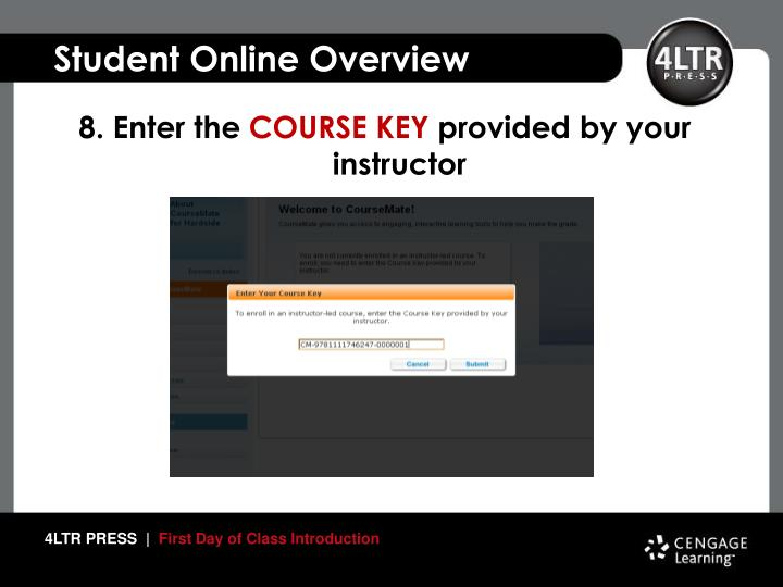 Student Online Overview