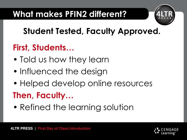 What makes pfin2 different