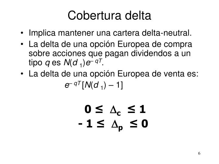 Cobertura delta