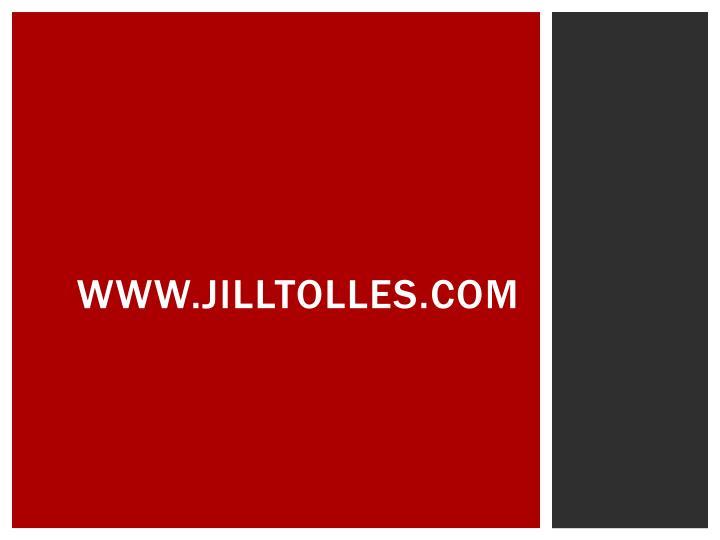 www.jilltolles.com