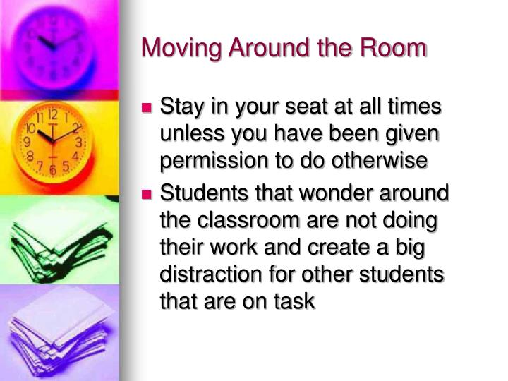 Moving Around the Room
