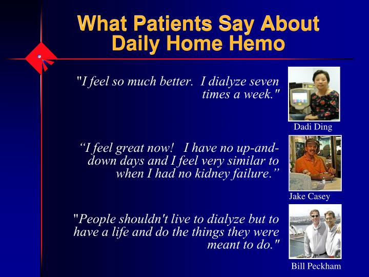 What Patients Say About