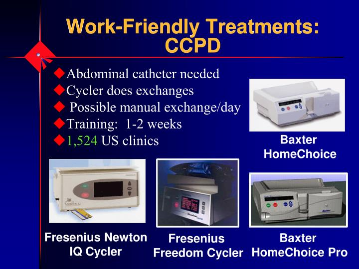 Work-Friendly Treatments: CCPD