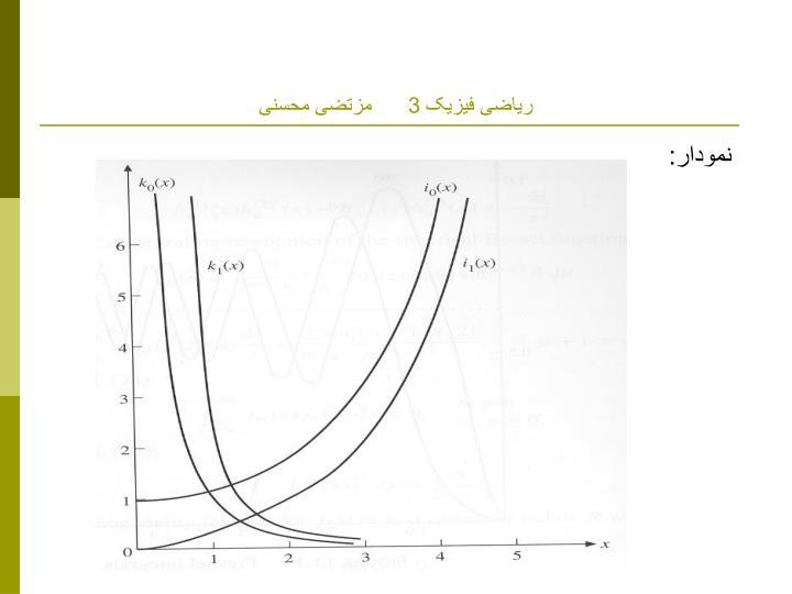 ریاضی فیزیک 3      مزتضی محسنی