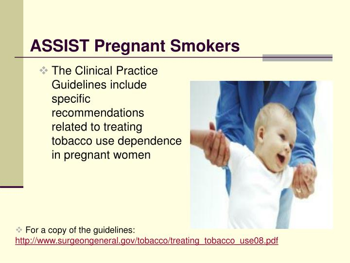 ASSIST Pregnant Smokers