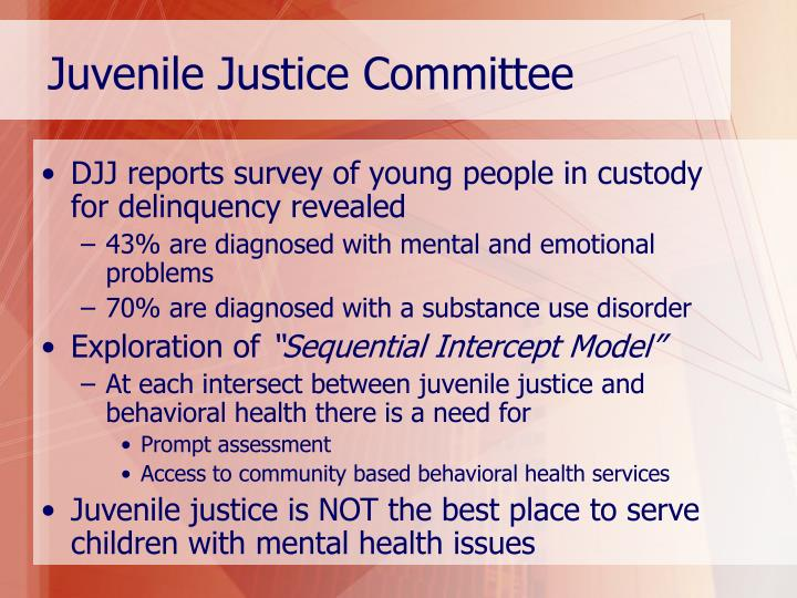Juvenile Justice Committee