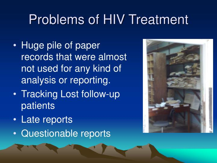 Problems of HIV Treatment