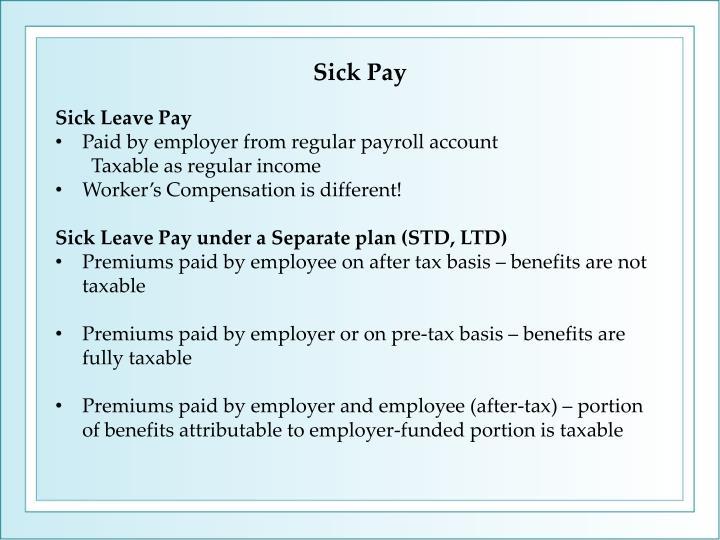 Sick Pay