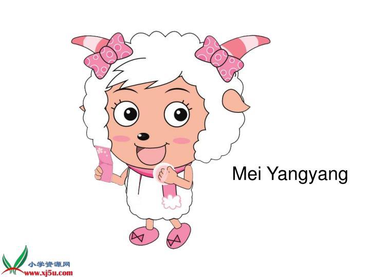 Mei Yangyang