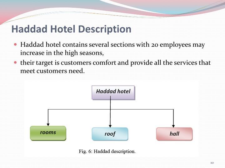 Haddad Hotel Description