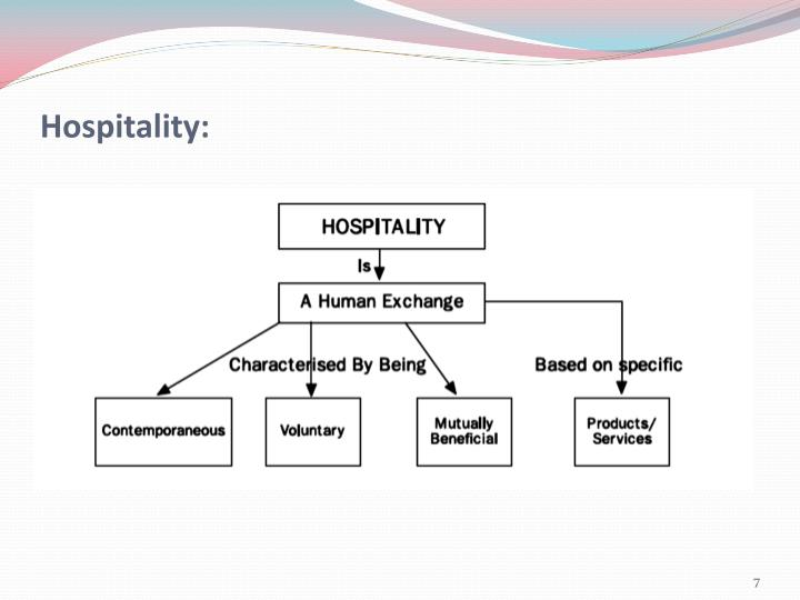 Hospitality: