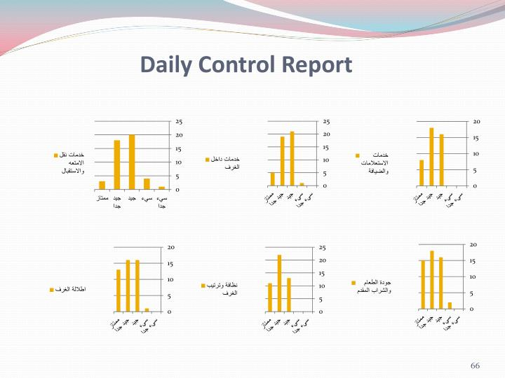 Daily Control Report