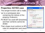 implementation details10
