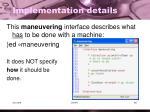 implementation details4