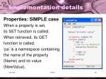 implementation details9