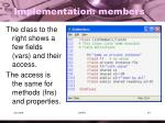 implementation members1