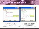 overridden classes1