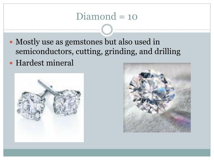 Diamond = 10
