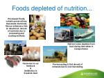 foods depleted of nutrition