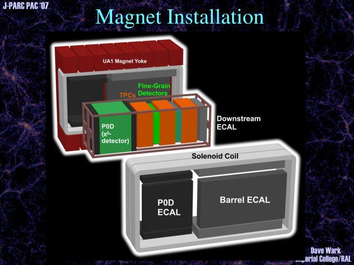 Magnet Installation