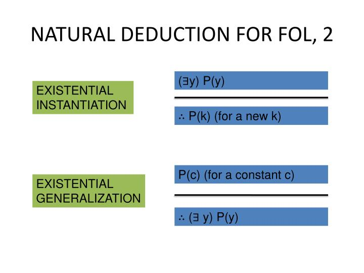 NATURAL DEDUCTION FOR FOL, 2