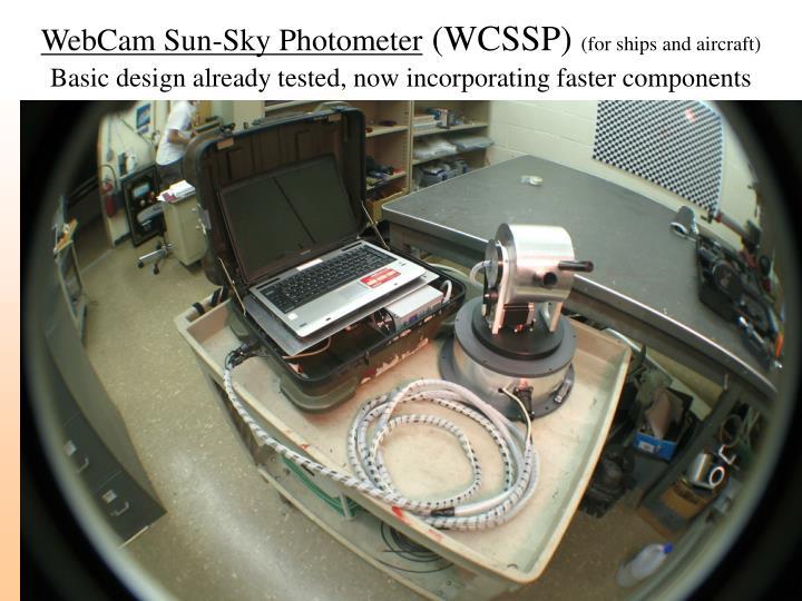 WebCam Sun-Sky Photometer