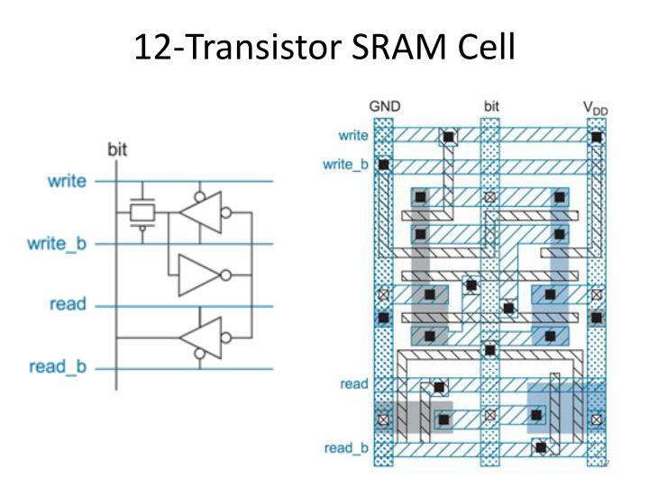 12-Transistor SRAM Cell