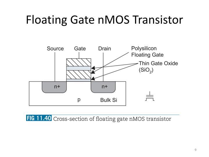 Floating Gate nMOS Transistor