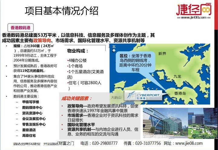 香港数码港总建面