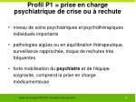 profil p1 prise en charge psychiatrique de crise ou rechute1