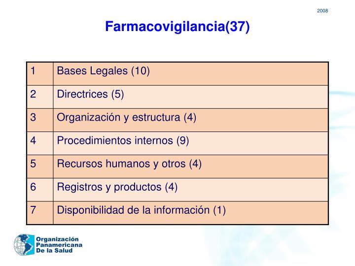 Farmacovigilancia(37)