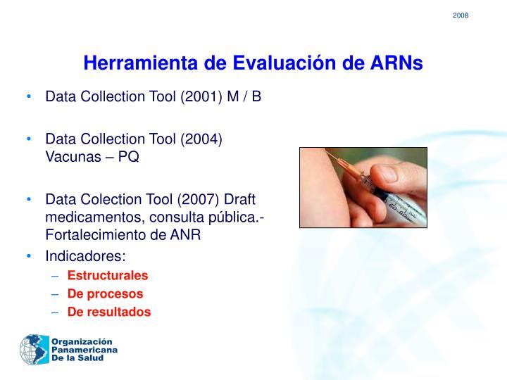 Herramienta de Evaluación de ARNs