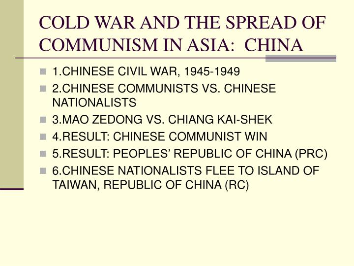 PPT - THE COLD WAR, 1945-1990 PowerPoint Presentation - ID ...