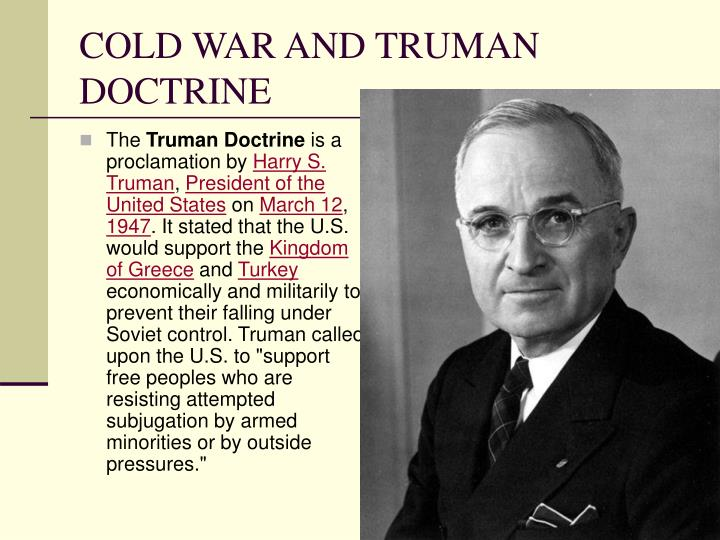an analysis of truman doctrine in relation to china invasion of tibet in 1949 China and its peripheries limited objectives in bhutan relations with tibet itself after its invasion of tibet in 1910-12 china continued to make feudatory.