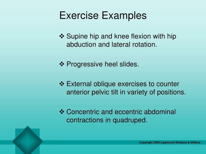 Exercise Examples