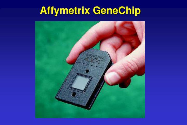 Affymetrix GeneChip