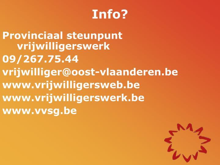 Info?