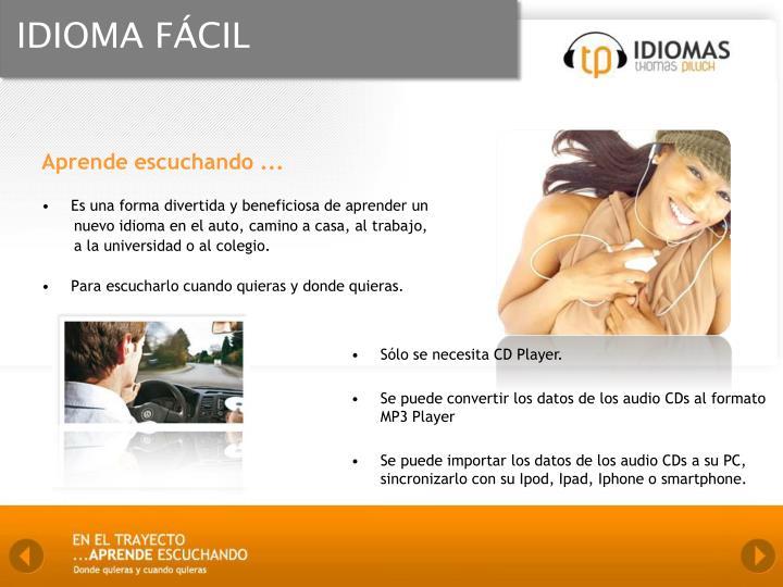 IDIOMA FÁCIL