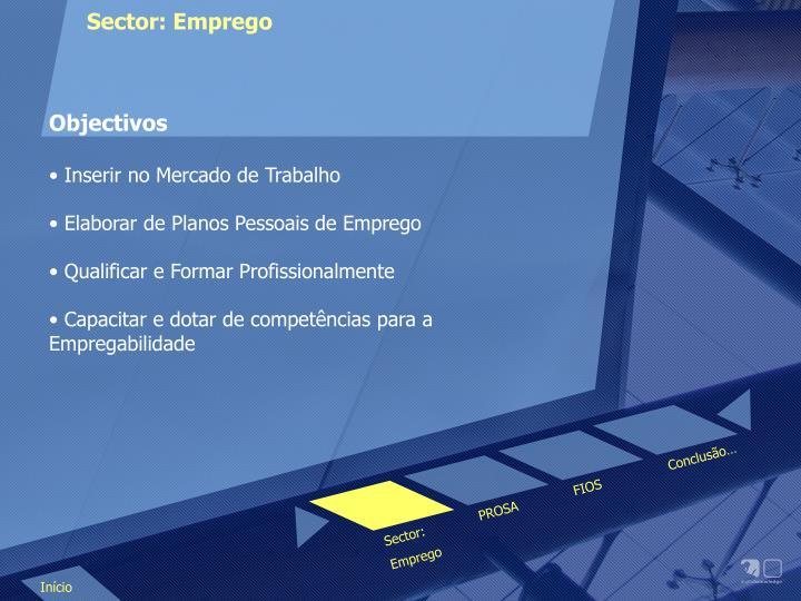 Sector: Emprego