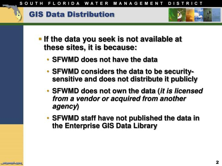 Gis data distribution1