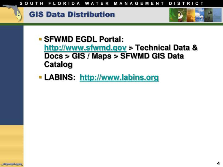GIS Data Distribution