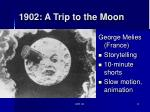 1902 a trip to the moon